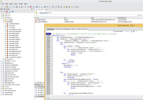 LDAP Filter Scripts