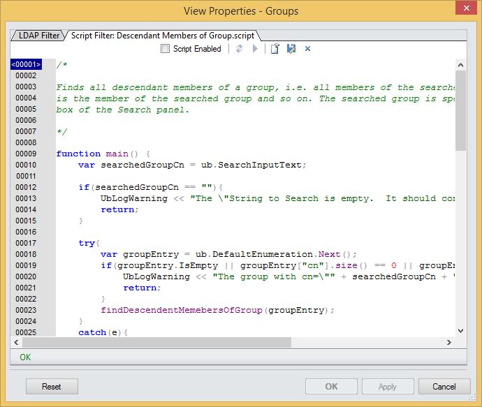 LDAP script